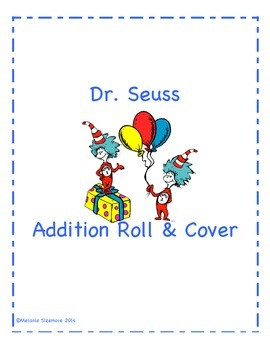 Dr. Seuss Addition Roll and Cover