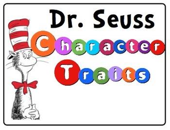 Dr. Seuss Character Traits
