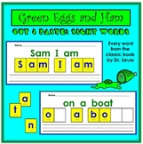 Dr. Seuss Green Eggs and Ham Cut and Paste Sight Words