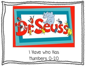 Dr. Seuss I have who has