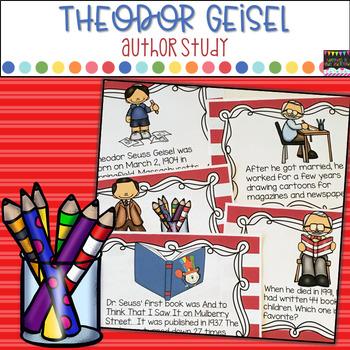 Dr. Seuss- Theodor Geisel Author Study