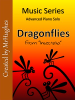 Dragonflies- A Piano Solo for Advanced Players
