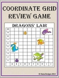 Dragons' Lair - Coordinate Grid Review Game