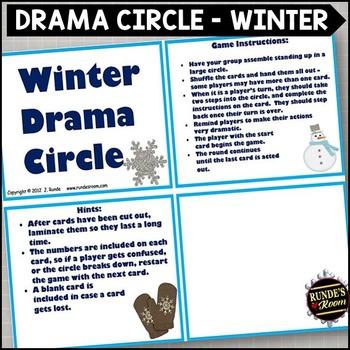 Drama Circle - Winter Theme
