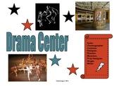 Elementary Literacy Center Sign: Drama Station