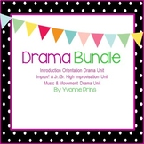 Drama Unit Bundle