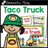 Dramatic Play Mexican Restaurant Printables for Pre-K and