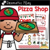 Dramatic Play Pizza Shop Kit for Pre-K and Kindergarten