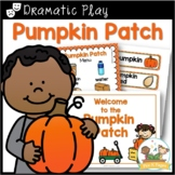 Dramatic Play Pumpkin Patch for Pre-K and Kindergarten