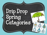 Drip Drop Spring Categories