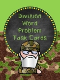Division Word Problems Task Cards - Duck Dynasty