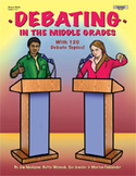 Debating in the Middle Grades  **Sale Price $7.98  - Regul