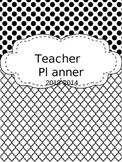EDITABLE Teacher Planner - Black and White