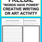 Writer's Workshop Creative Writing NO PREP one-pager