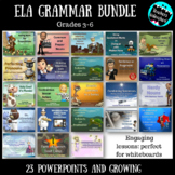 ELA Grammar PowerPoint Bundle