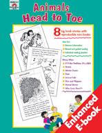 Big Book Stories, Animal Head to Toe (Enhanced eBook)