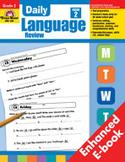 Daily Language Review: Grade 2 (Enhanced eBook)