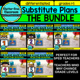 SUB PLAN BUNDLE grade 1-5