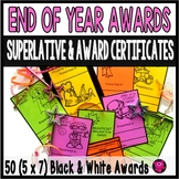 END of SCHOOL AWARDS /BLACK and WHITE