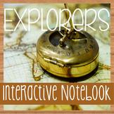 Social Studies Notebooking- EXPLORERS of North America- Wi
