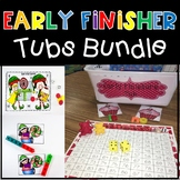 Early Finisher Tub Bundle For ALL Year!