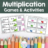 Early Multiplication Dice Games and Activities