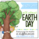 Earth Day 8 Day Unit - Learning to Make a Difference