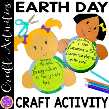 Earth Day Craft Activity (step-by-step directions and photographs)