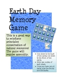 Earth Day Memory Game