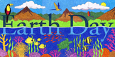 Earth Day Mural Template