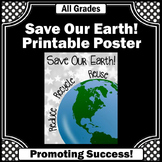 Earth Day Activities Bulletin Board Recycle Reuse Reduce P