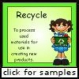 Earth Day Sorting (Sorting Composting or Recycling)