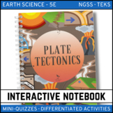 Plate Tectonics: Earth Science Interactive Notebook
