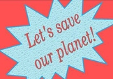 Earth day--April 22-Let's save our planet
