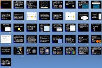 Earths Moon Solar System Smartboard Notebook Presentation
