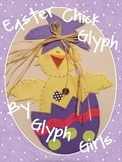 Easter Chick Glyph