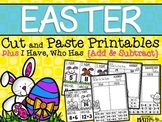 Easter Cut & Paste Printables plus I Have, Who Has {Additi