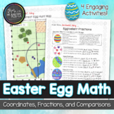 Spring Easter Egg Math: Fractions, Comparisons, Plotting