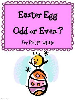 Easter Egg Odd or Even? Freebie