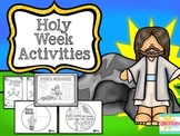 Easter:  Holy Week Activities
