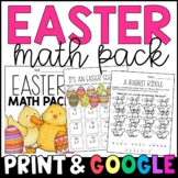 Easter Math Morning Work/Homework: CCSS-Aligned to Grades