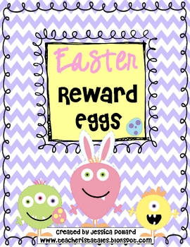 Easter Reward Eggs {Freebie}