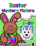 Tens and Ones Mystery Picture Easter (1-100)
