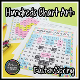 Easter and Spring Hundreds Chart Art (Mystery Picture)