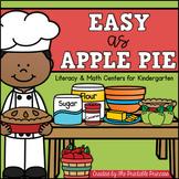 Apple / September Themed Centers for Kindergarten