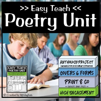 Easy Teach Poetry Unit