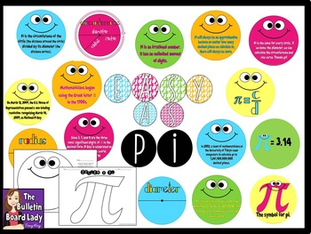 Easy as Pi -Pi Day Math Bulletin Board