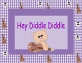 Ebook for Early Readers: Hey, Diddle, Diddle (for iPad/iPhone)