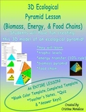 Ecological Pyramid Model Lesson Biomass, Energy and Food Chains