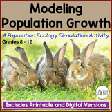 Ecology Activity:  Modeling Population Growth